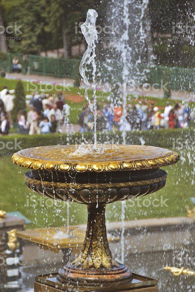 Fountain Bowl royalty-free stock photo