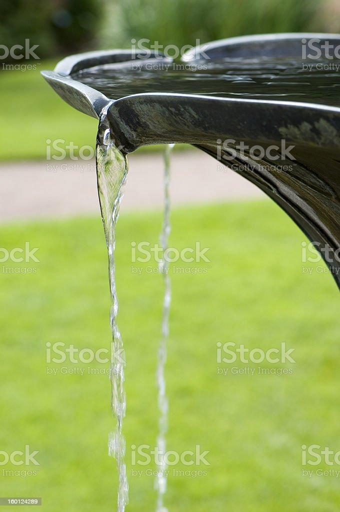 Fountain detail royalty-free stock photo