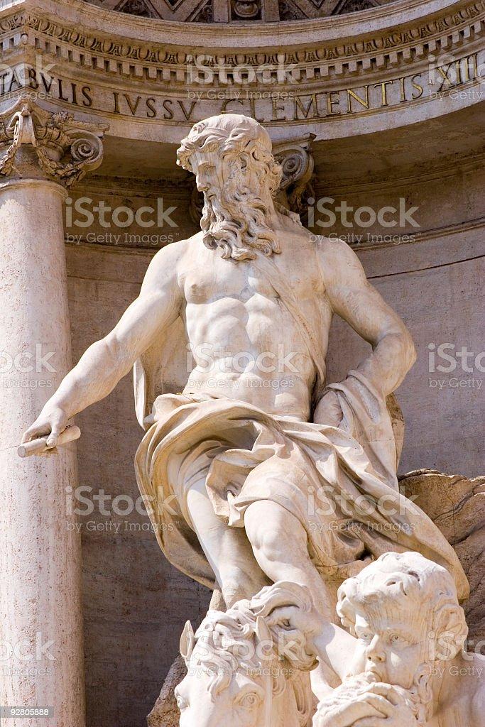 Fountain di Trevi royalty-free stock photo