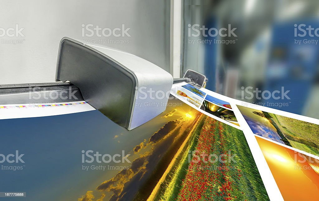 fountain key color management spectrophotometar control unit royalty-free stock photo