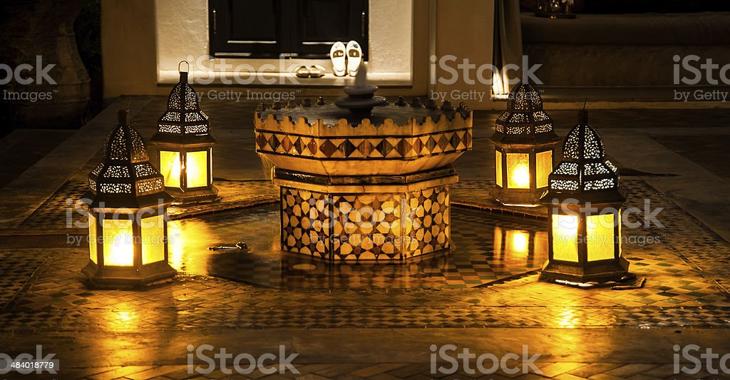 fountain multi-tiered royalty-free stock photo