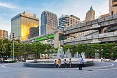 Fountain near World trade center