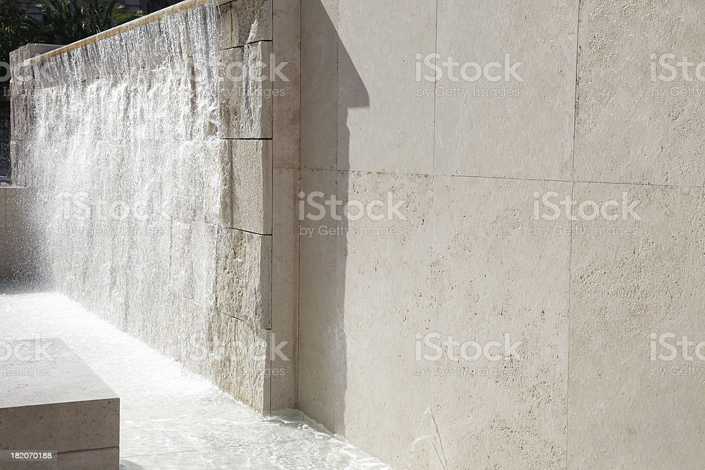Fountain of Ara Paci, in Rome stock photo