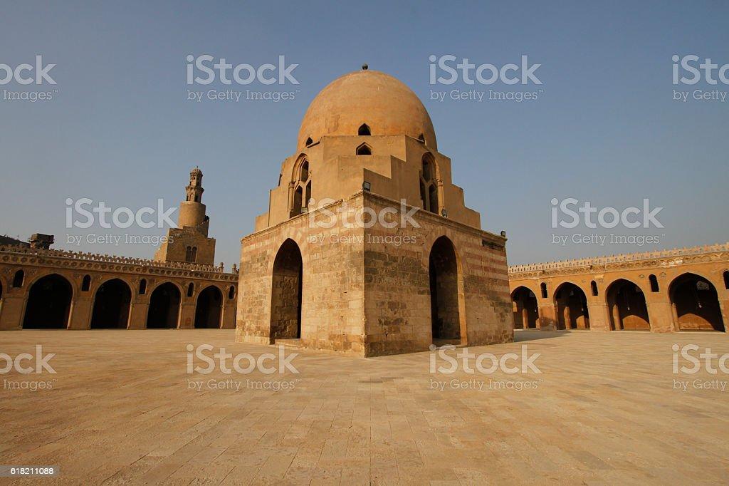Fountain of Ibn Tulun Mosque, Cairo, Egypt stock photo