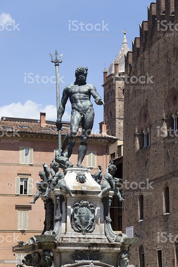 Fountain of Neptune royalty-free stock photo
