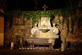 Fountain of the Mask, Rome, Italy