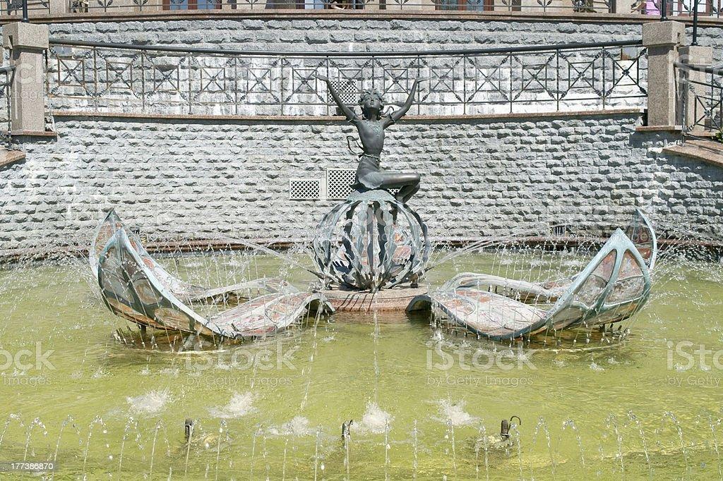 Fountain of Thumbelina royalty-free stock photo