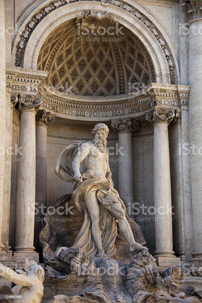 Fountain of Trevi, Rome, Italy royalty-free stock photo