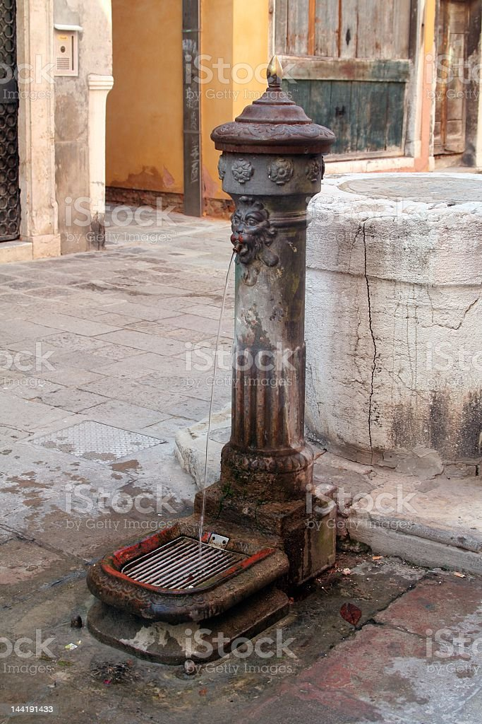 fountain of Venice royalty-free stock photo