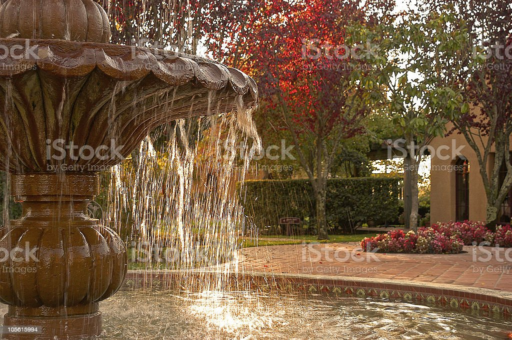 fountain stock photo