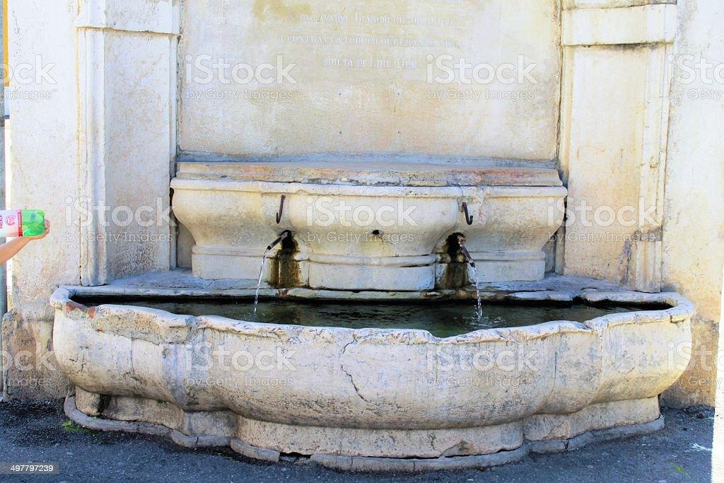fountain royalty-free stock photo