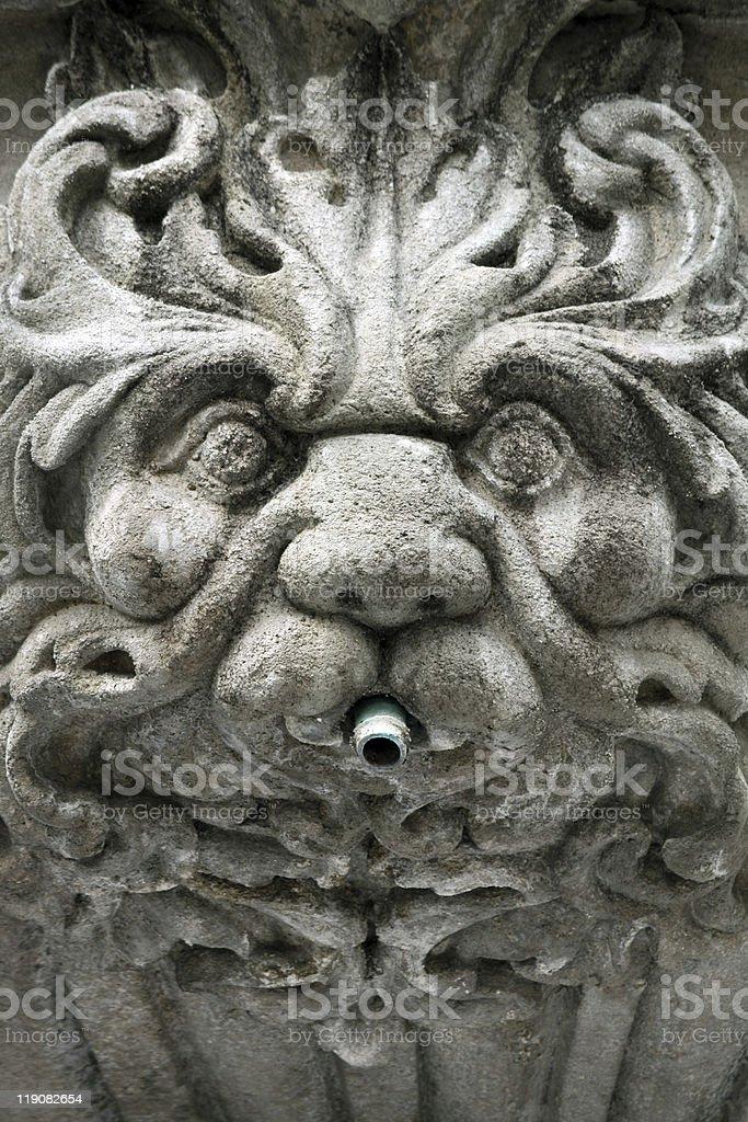 fountain sculpture stock photo