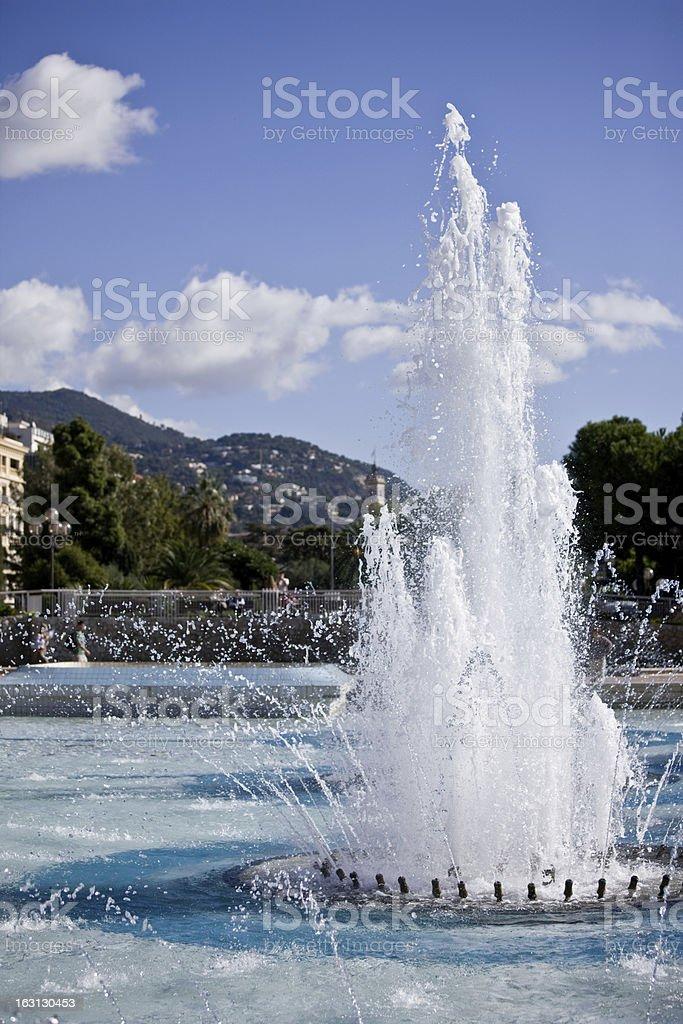 Fountain XXL royalty-free stock photo