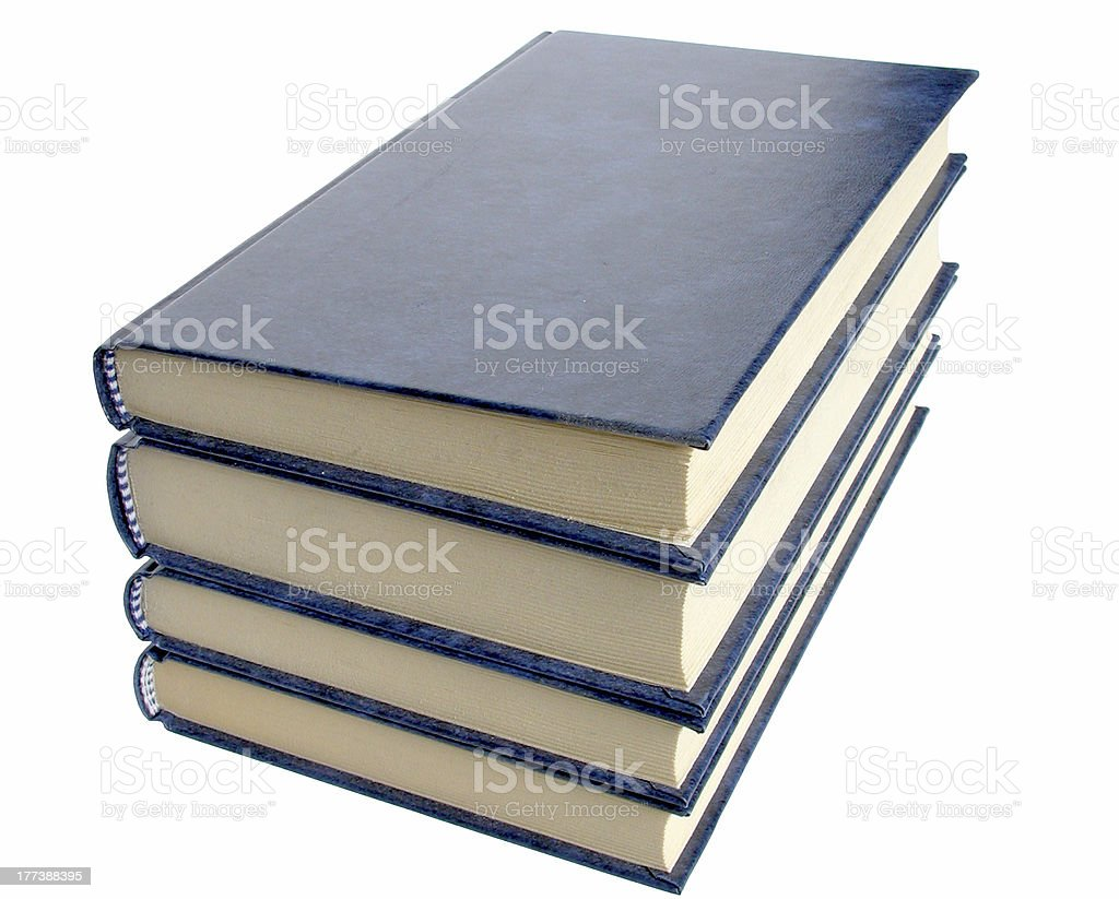 Four books royalty-free stock photo