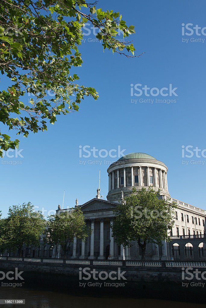 Four Courts Building stock photo