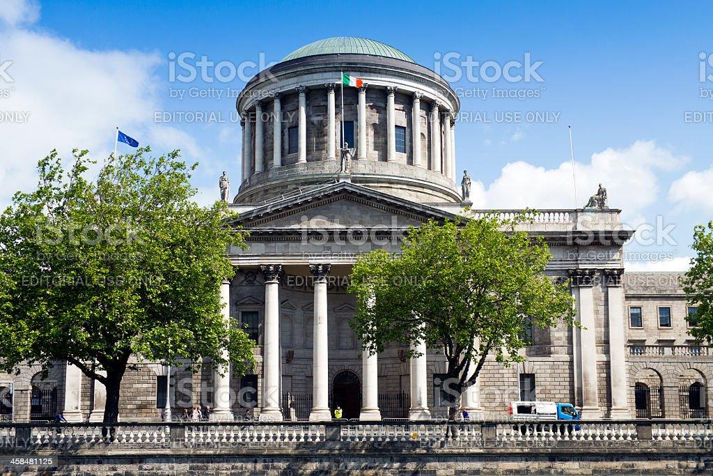 Four Courts Dublin, Ireland stock photo