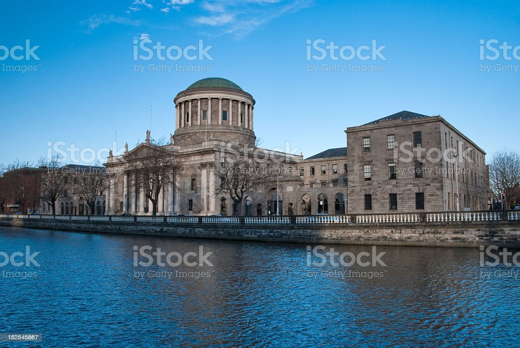 Four Courts in  Dublin stock photo