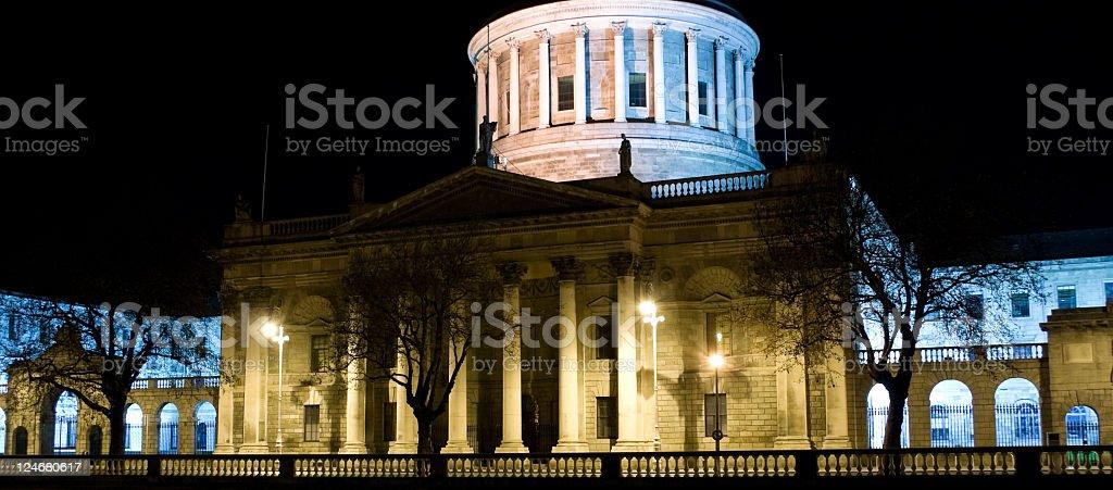 Four Courts stock photo