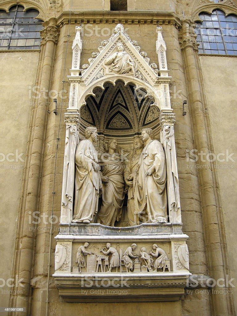 Four Crowned Saints stock photo