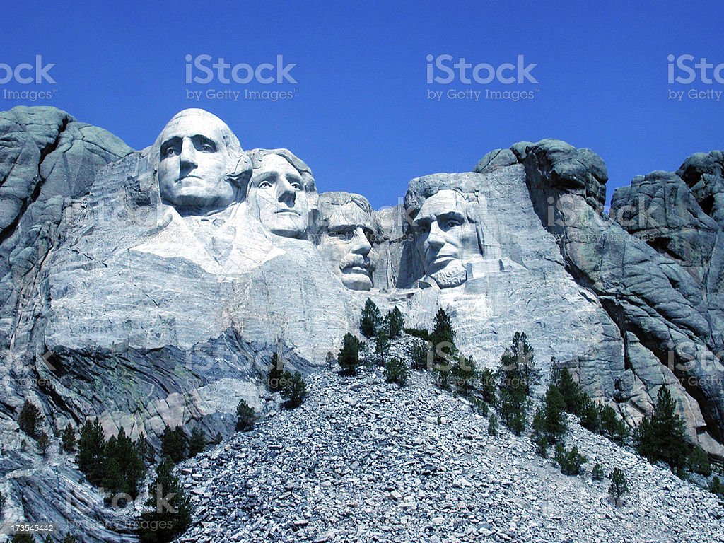Four Dead Presidents royalty-free stock photo
