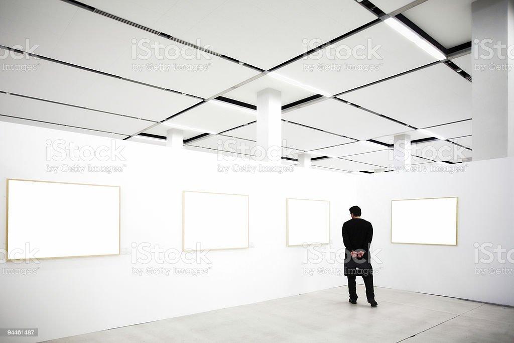 Four empty frames royalty-free stock photo