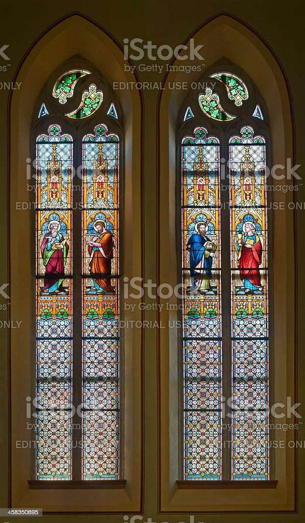 Four Evangelists (c. 1880) royalty-free stock photo