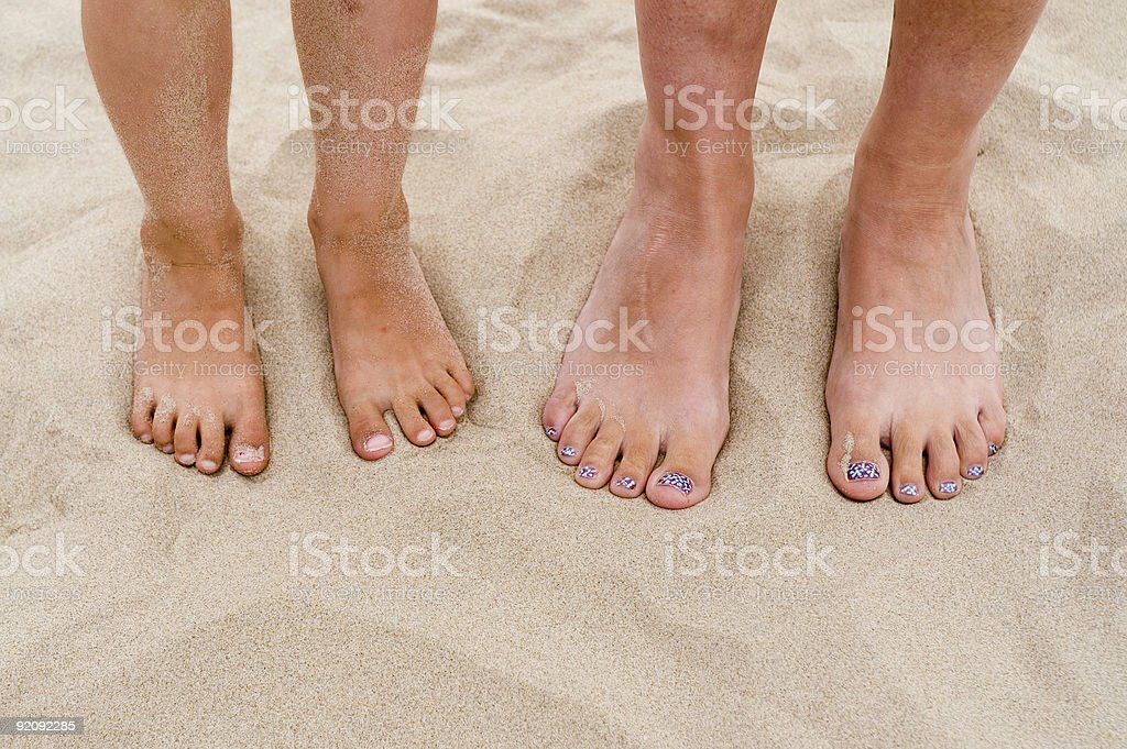 Four feet 2 royalty-free stock photo