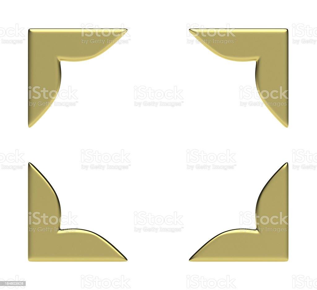 Four Golden Corners stock photo