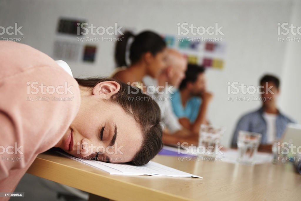 Four hours and still talking royalty-free stock photo