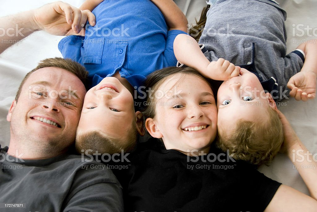 Four in a row royalty-free stock photo