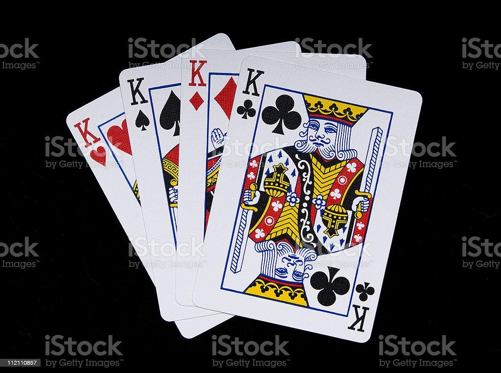 Four Kings stock photo