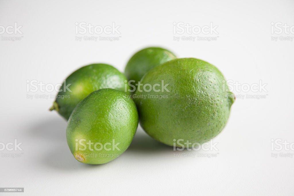 Four Limes stock photo