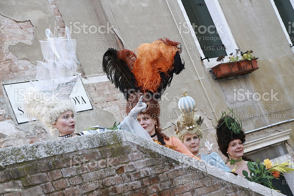 four masks royalty-free stock photo