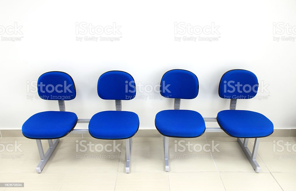 Four new seats royalty-free stock photo