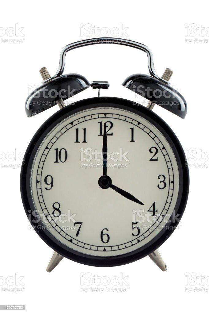 Four o'clock - Stock Image stock photo