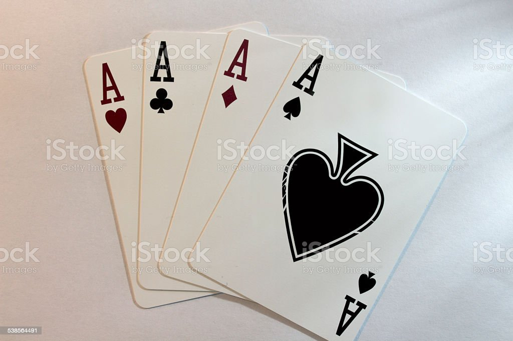 Four of a Kind stock photo
