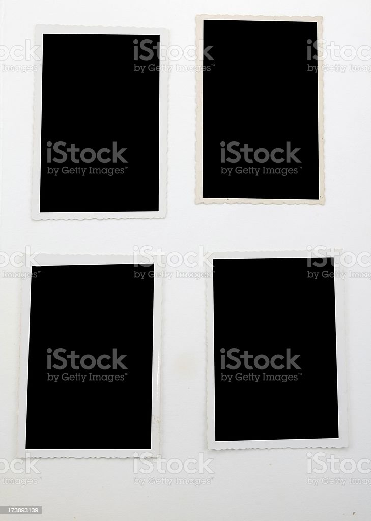 four old  iamges royalty-free stock photo