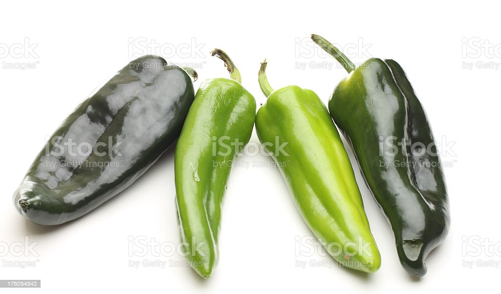 four peppers stock photo