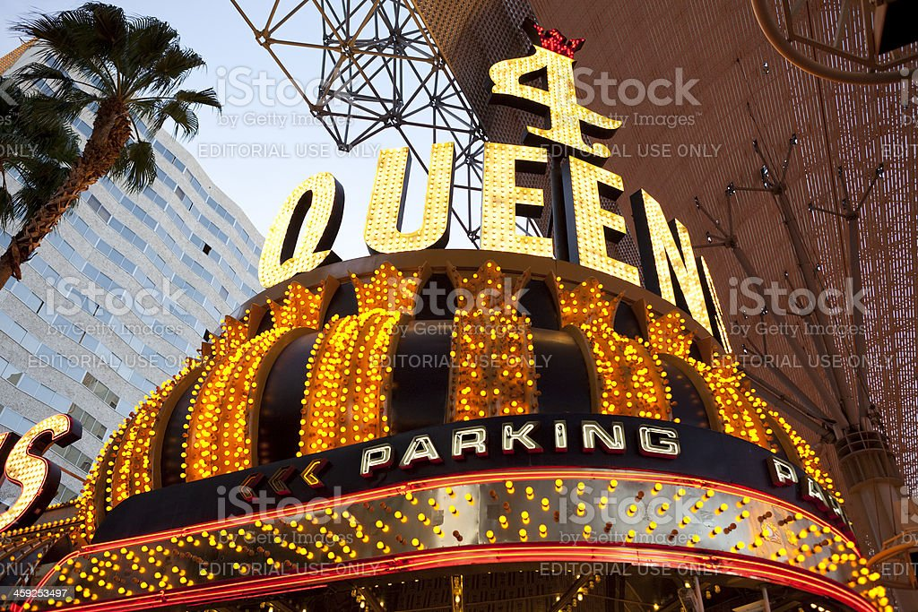 Four Queens Hotel and Casino stock photo