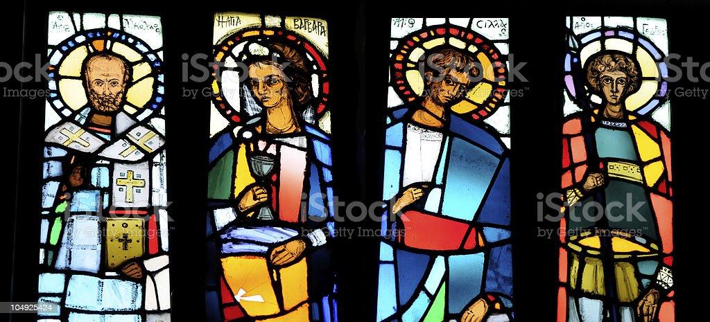 Four Saints royalty-free stock photo