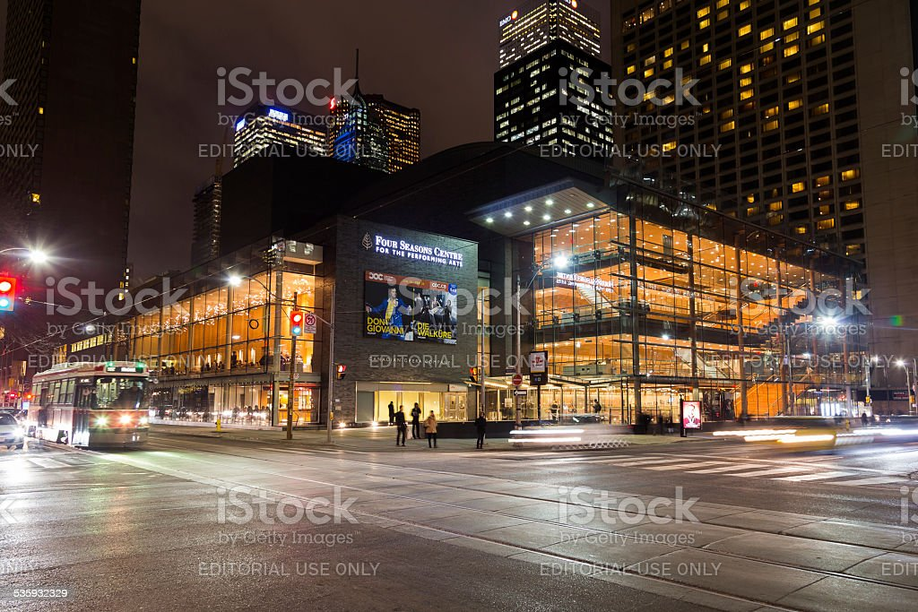 Four Seasons Centre For The Performing Arts stock photo