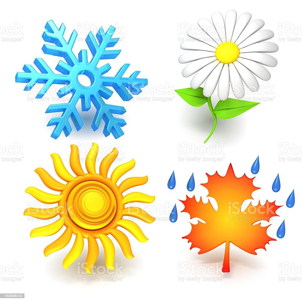 Four Seasons royalty-free stock photo