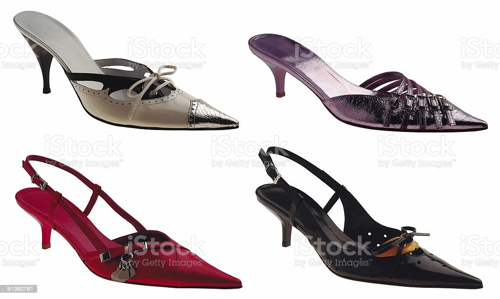 Four Shoes stock photo