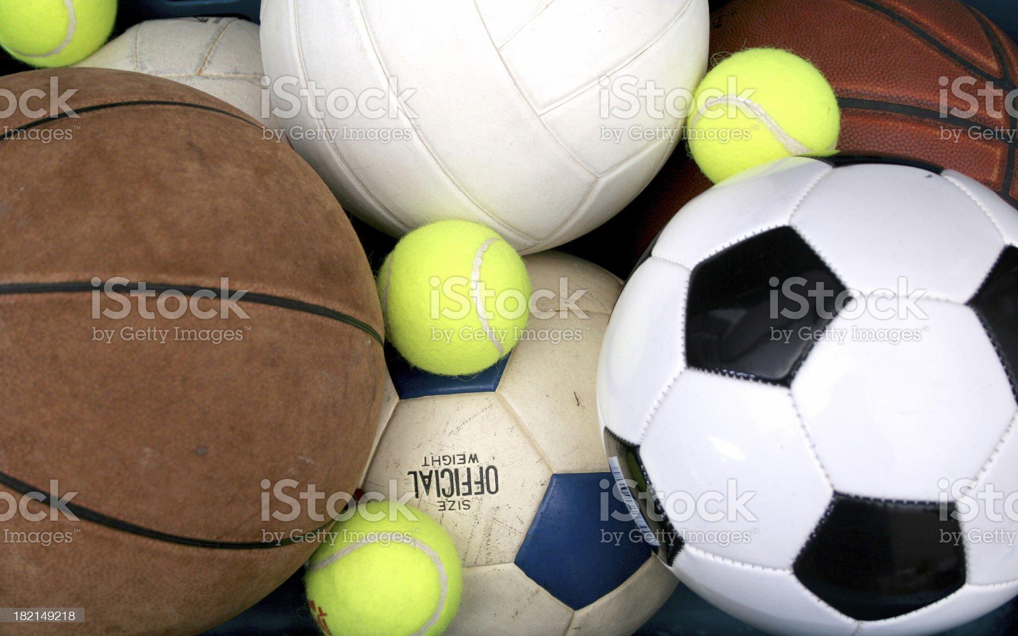 Four Sport Athlete royalty-free stock photo