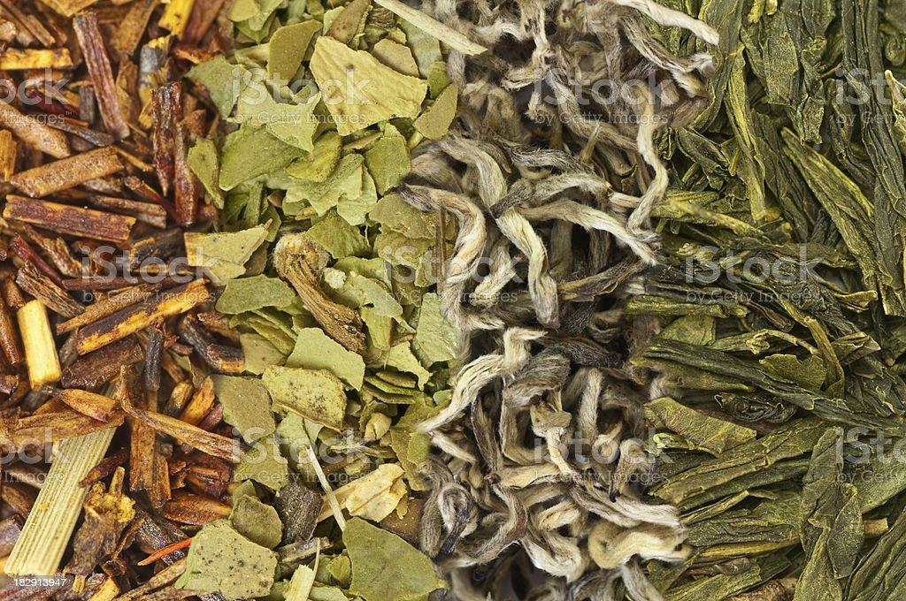Four Teas stock photo