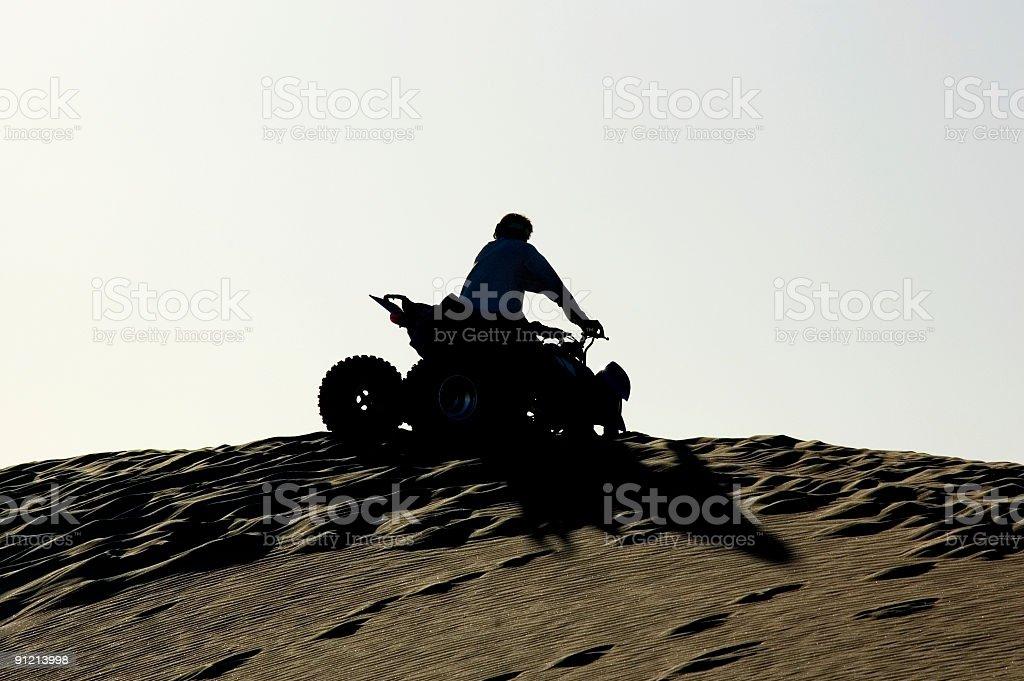 Four Wheel Motorbike stock photo