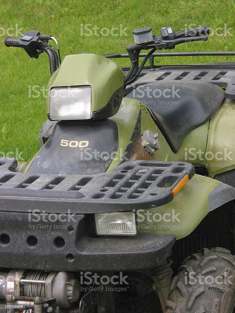 four wheeler royalty-free stock photo