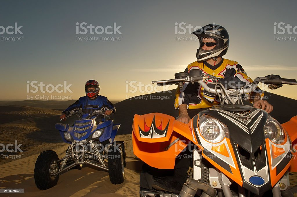Four Wheeler Riding stock photo