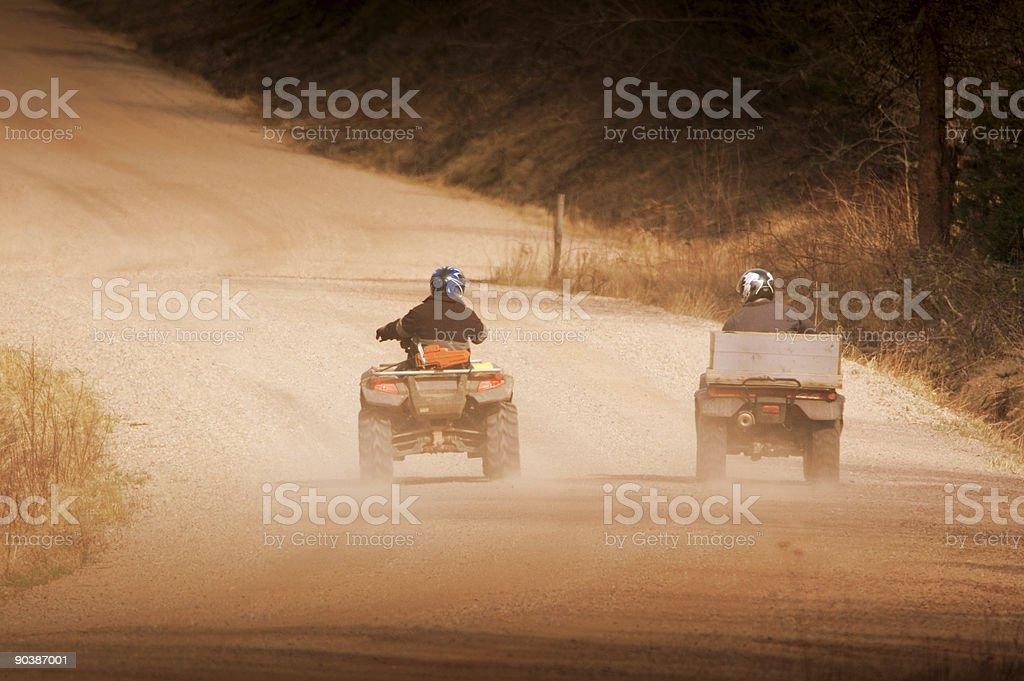 Four Wheeling stock photo