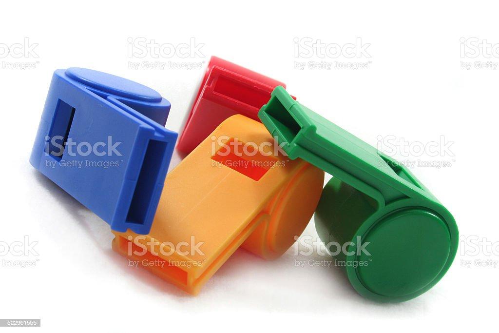 four whistles stock photo